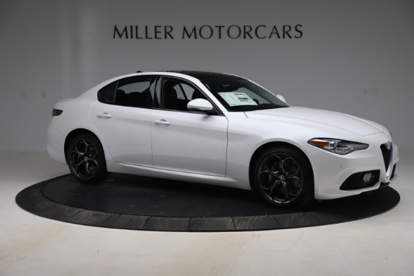 New 2019 Alfa Romeo Giulia Ti Sport Q4 for sale $54,540 at Pagani of Greenwich in Greenwich CT 06830 10
