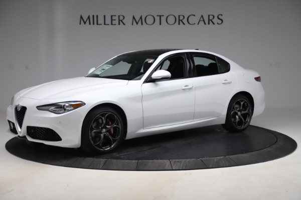 New 2019 Alfa Romeo Giulia Ti Sport Q4 for sale $54,540 at Pagani of Greenwich in Greenwich CT 06830 2