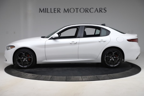 New 2019 Alfa Romeo Giulia Ti Sport Q4 for sale Sold at Pagani of Greenwich in Greenwich CT 06830 3
