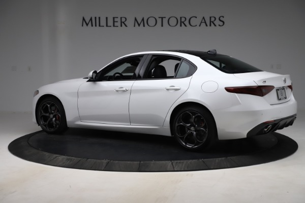 New 2019 Alfa Romeo Giulia Ti Sport Q4 for sale $54,540 at Pagani of Greenwich in Greenwich CT 06830 4
