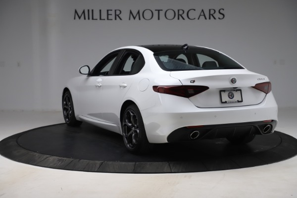 New 2019 Alfa Romeo Giulia Ti Sport Q4 for sale $54,540 at Pagani of Greenwich in Greenwich CT 06830 5