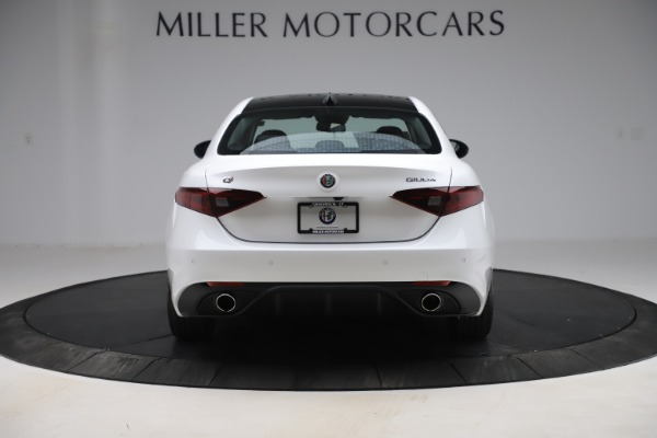 New 2019 Alfa Romeo Giulia Ti Sport Q4 for sale Sold at Pagani of Greenwich in Greenwich CT 06830 6