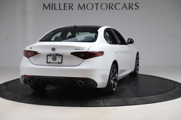 New 2019 Alfa Romeo Giulia Ti Sport Q4 for sale Sold at Pagani of Greenwich in Greenwich CT 06830 7