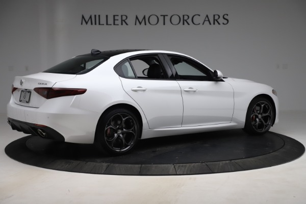 New 2019 Alfa Romeo Giulia Ti Sport Q4 for sale $54,540 at Pagani of Greenwich in Greenwich CT 06830 8