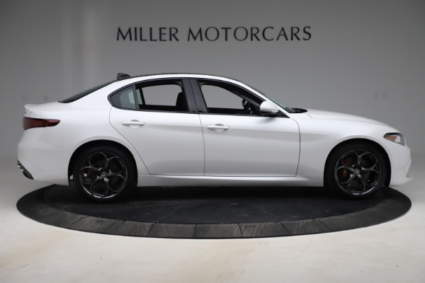 New 2019 Alfa Romeo Giulia Ti Sport Q4 for sale $54,540 at Pagani of Greenwich in Greenwich CT 06830 9