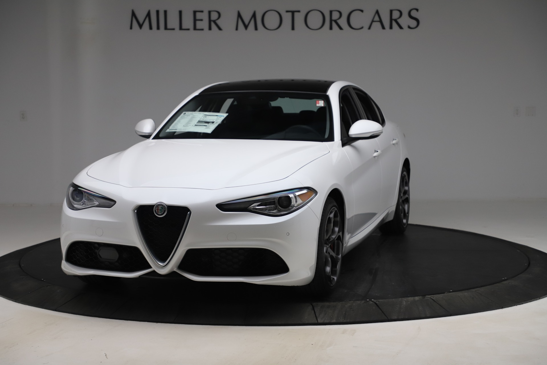 New 2019 Alfa Romeo Giulia Ti Sport Q4 for sale $54,540 at Pagani of Greenwich in Greenwich CT 06830 1