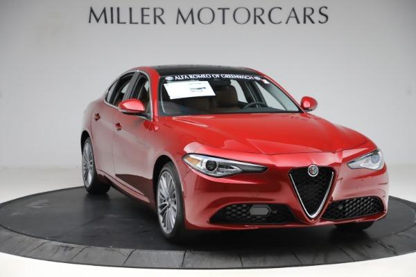 New 2019 Alfa Romeo Giulia Ti Lusso Q4 for sale $47,290 at Pagani of Greenwich in Greenwich CT 06830 11