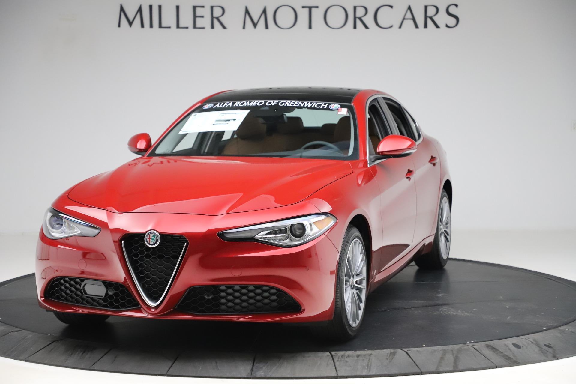 New 2019 Alfa Romeo Giulia Ti Lusso Q4 for sale $47,290 at Pagani of Greenwich in Greenwich CT 06830 1