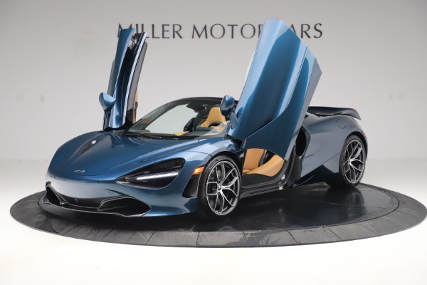 New 2020 McLaren 720S Spider Luxury for sale $380,835 at Pagani of Greenwich in Greenwich CT 06830 13