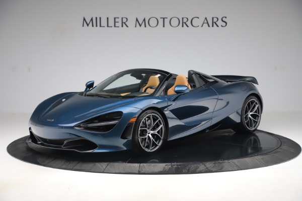 New 2020 McLaren 720S Spider Luxury for sale $380,835 at Pagani of Greenwich in Greenwich CT 06830 1