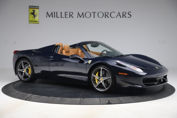 Used 2012 Ferrari 458 Spider for sale Sold at Pagani of Greenwich in Greenwich CT 06830 10