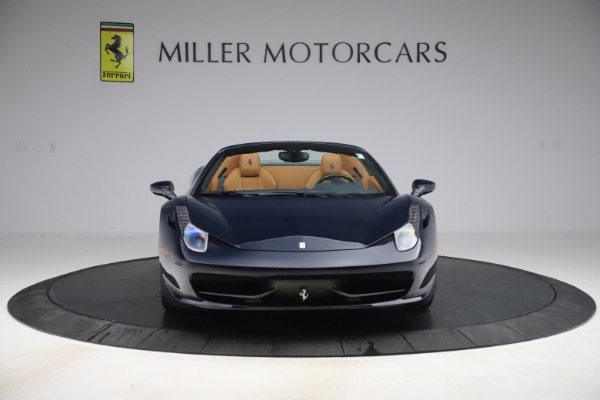 Used 2012 Ferrari 458 Spider for sale Sold at Pagani of Greenwich in Greenwich CT 06830 12