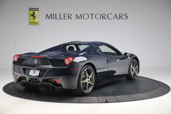 Used 2012 Ferrari 458 Spider for sale Sold at Pagani of Greenwich in Greenwich CT 06830 16