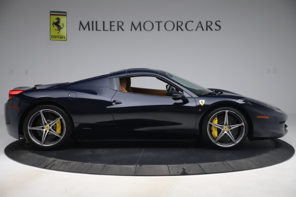 Used 2012 Ferrari 458 Spider for sale Sold at Pagani of Greenwich in Greenwich CT 06830 17