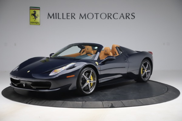 Used 2012 Ferrari 458 Spider for sale Sold at Pagani of Greenwich in Greenwich CT 06830 2