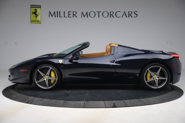 Used 2012 Ferrari 458 Spider for sale Sold at Pagani of Greenwich in Greenwich CT 06830 3