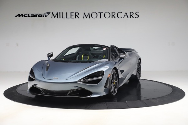Used 2020 McLaren 720S Spider Convertible for sale Call for price at Pagani of Greenwich in Greenwich CT 06830 2