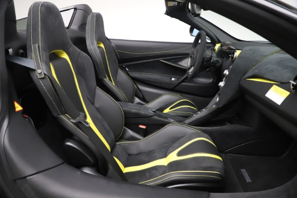 Used 2020 McLaren 720S Spider Convertible for sale Call for price at Pagani of Greenwich in Greenwich CT 06830 25