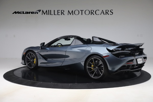 Used 2020 McLaren 720S Spider Convertible for sale Call for price at Pagani of Greenwich in Greenwich CT 06830 4
