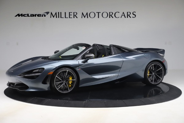 Used 2020 McLaren 720S Spider Convertible for sale Call for price at Pagani of Greenwich in Greenwich CT 06830 1