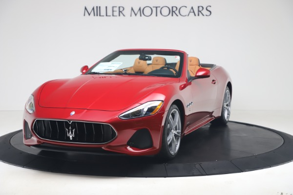 New 2019 Maserati GranTurismo Sport for sale $162,520 at Pagani of Greenwich in Greenwich CT 06830 1