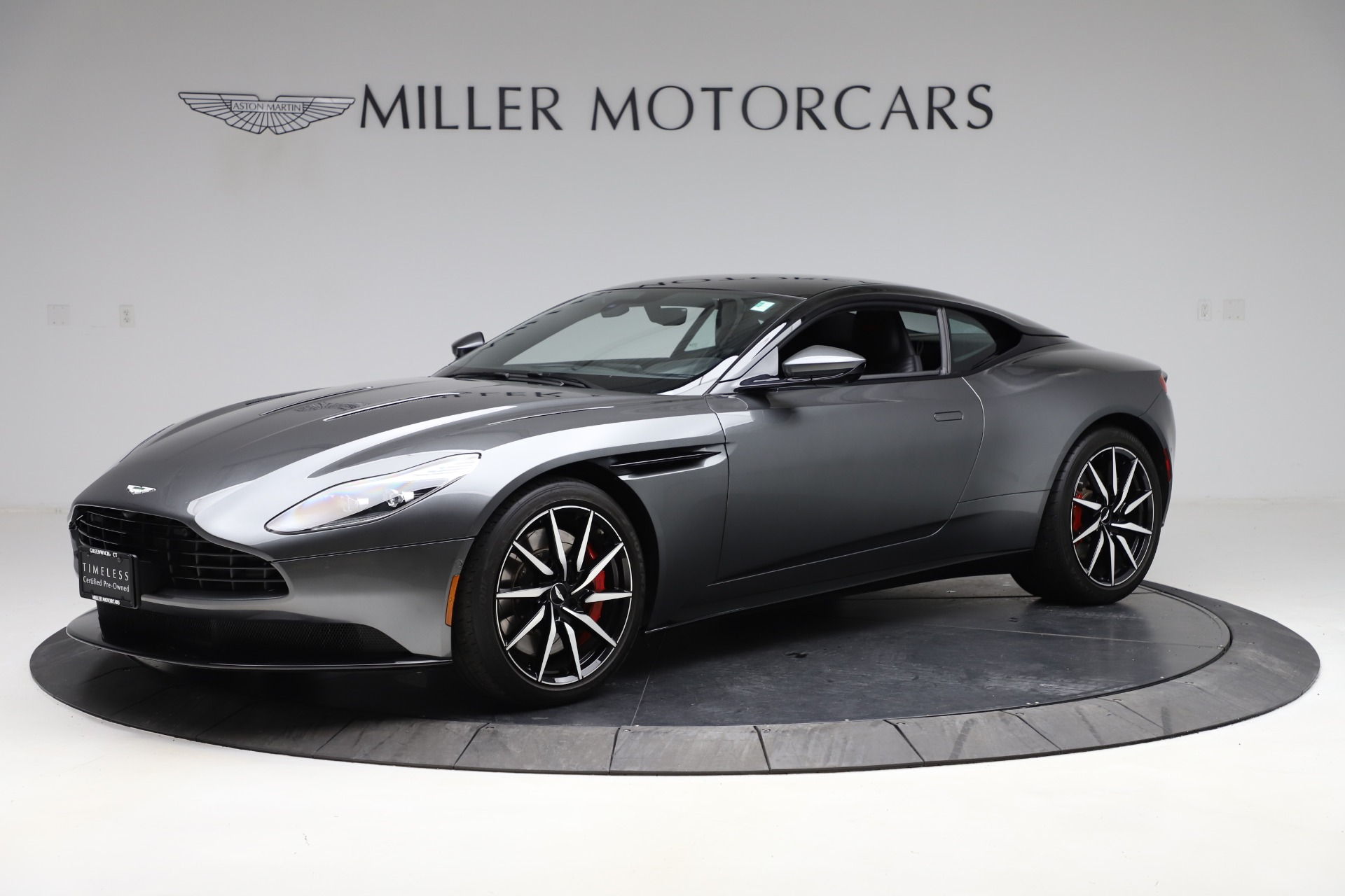 Used 2017 Aston Martin DB11 V12 for sale Sold at Pagani of Greenwich in Greenwich CT 06830 1