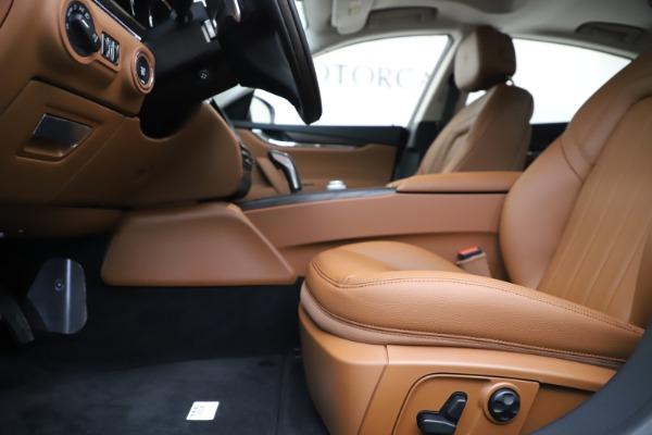 New 2019 Maserati Quattroporte S Q4 for sale $121,065 at Pagani of Greenwich in Greenwich CT 06830 14