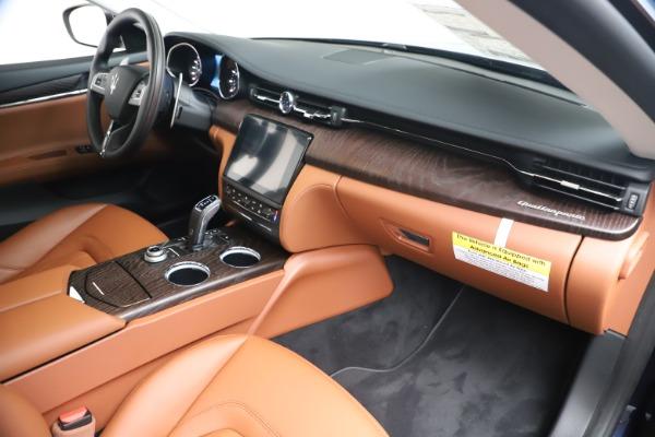 New 2019 Maserati Quattroporte S Q4 for sale $121,065 at Pagani of Greenwich in Greenwich CT 06830 22