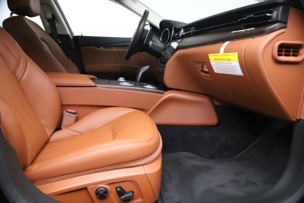 New 2019 Maserati Quattroporte S Q4 for sale $121,065 at Pagani of Greenwich in Greenwich CT 06830 23