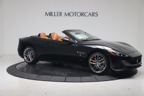New 2019 Maserati GranTurismo Sport Convertible for sale $161,970 at Pagani of Greenwich in Greenwich CT 06830 10