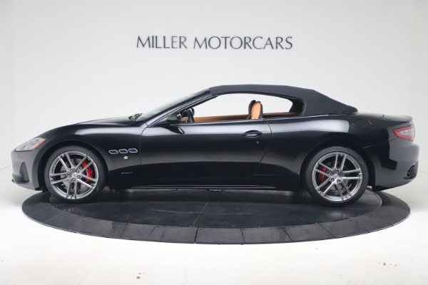 New 2019 Maserati GranTurismo Sport Convertible for sale $161,970 at Pagani of Greenwich in Greenwich CT 06830 14