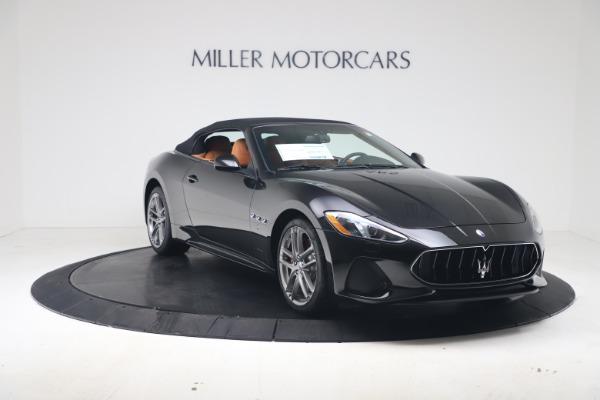 New 2019 Maserati GranTurismo Sport Convertible for sale $161,970 at Pagani of Greenwich in Greenwich CT 06830 18