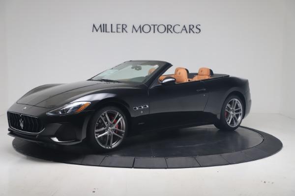 New 2019 Maserati GranTurismo Sport Convertible for sale $161,970 at Pagani of Greenwich in Greenwich CT 06830 2
