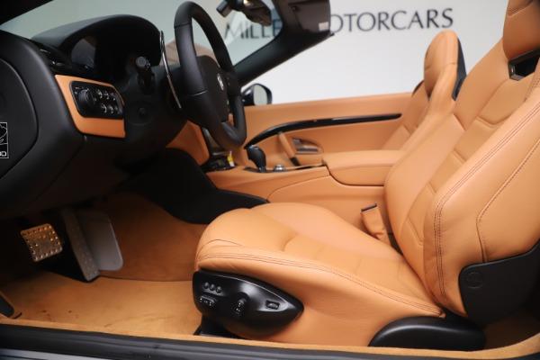New 2019 Maserati GranTurismo Sport Convertible for sale $161,970 at Pagani of Greenwich in Greenwich CT 06830 20
