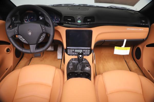 New 2019 Maserati GranTurismo Sport Convertible for sale $161,970 at Pagani of Greenwich in Greenwich CT 06830 22