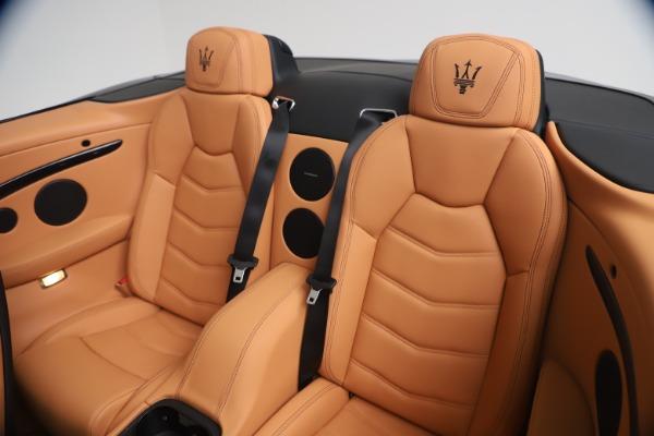 New 2019 Maserati GranTurismo Sport Convertible for sale $161,970 at Pagani of Greenwich in Greenwich CT 06830 24