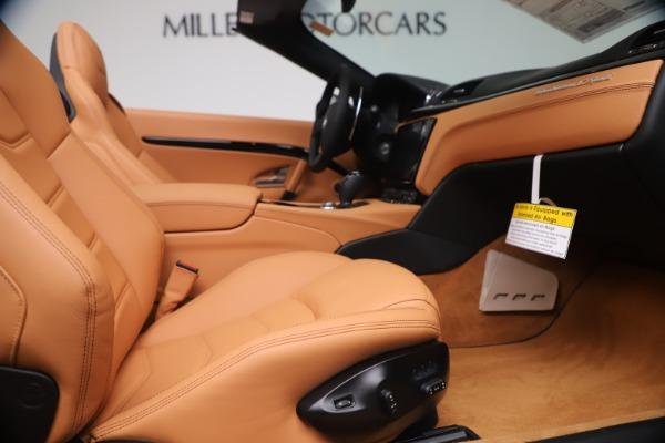 New 2019 Maserati GranTurismo Sport Convertible for sale $161,970 at Pagani of Greenwich in Greenwich CT 06830 27
