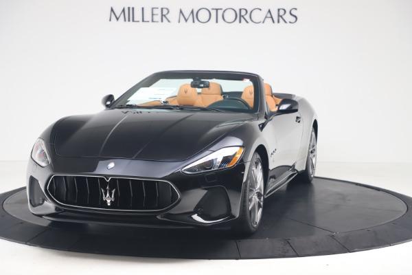 New 2019 Maserati GranTurismo Sport Convertible for sale $161,970 at Pagani of Greenwich in Greenwich CT 06830 1