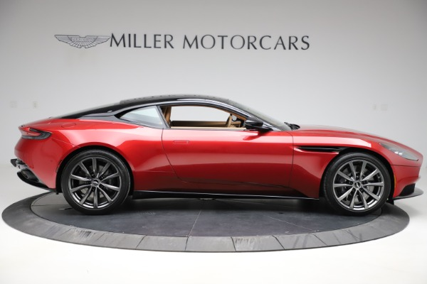 Used 2020 Aston Martin DB11 V8 Coupe for sale Sold at Pagani of Greenwich in Greenwich CT 06830 9