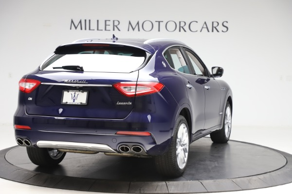 New 2019 Maserati Levante GranLusso for sale Sold at Pagani of Greenwich in Greenwich CT 06830 7