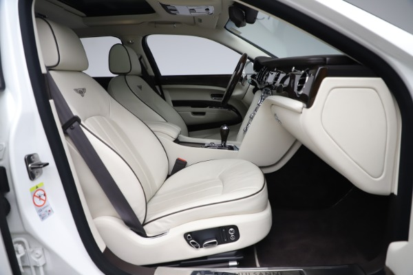 Used 2016 Bentley Mulsanne for sale Sold at Pagani of Greenwich in Greenwich CT 06830 27