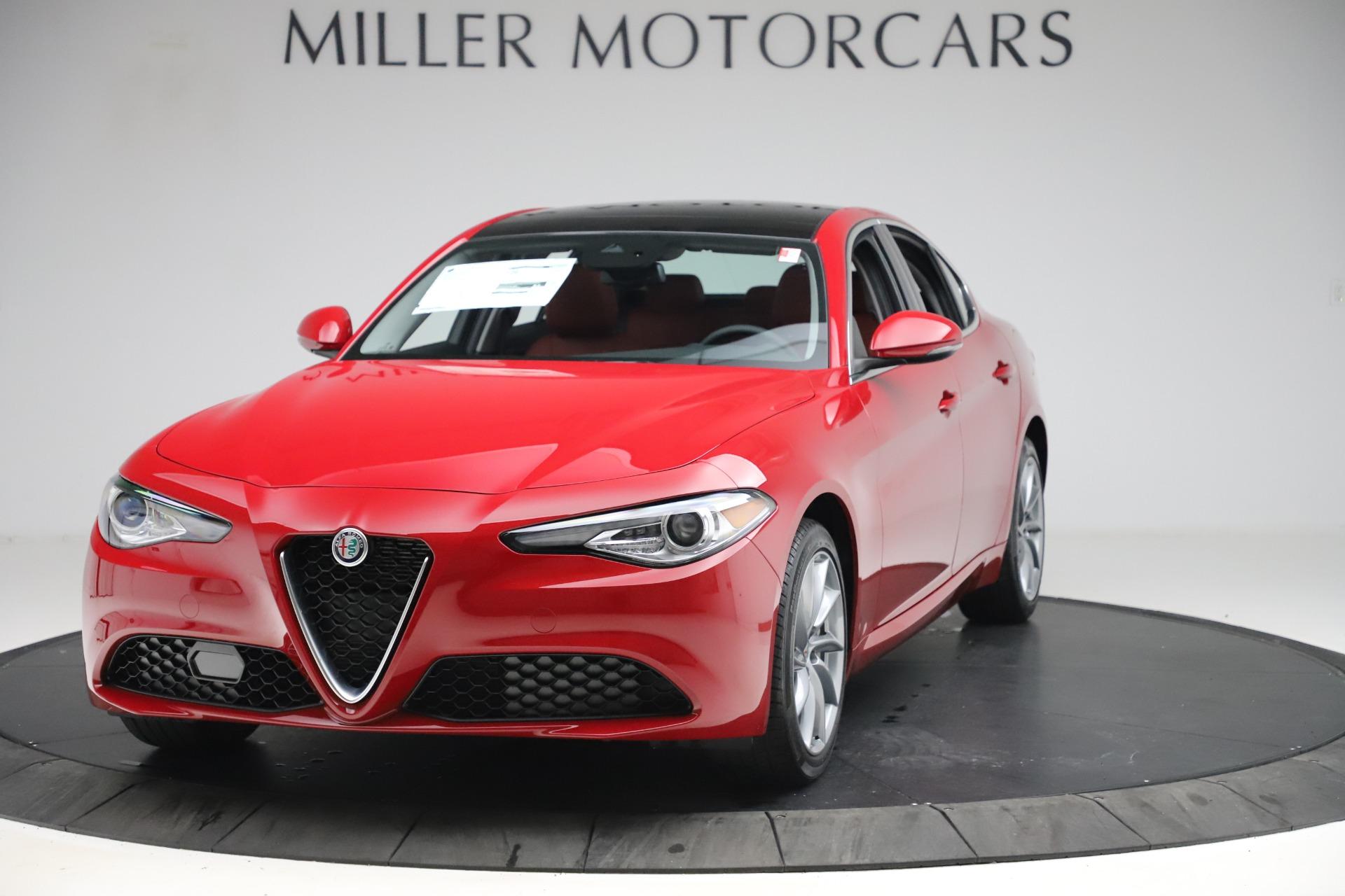 New 2020 Alfa Romeo Giulia Q4 for sale $45,740 at Pagani of Greenwich in Greenwich CT 06830 1