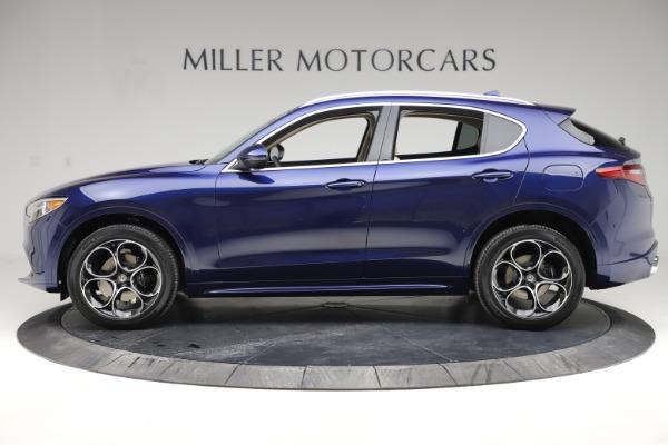New 2020 Alfa Romeo Stelvio Ti Lusso Q4 for sale $55,790 at Pagani of Greenwich in Greenwich CT 06830 3