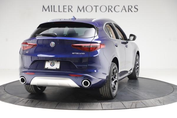 New 2020 Alfa Romeo Stelvio Ti Lusso Q4 for sale $55,790 at Pagani of Greenwich in Greenwich CT 06830 7