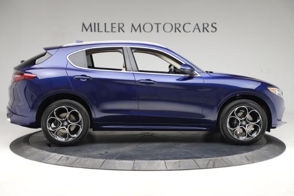 New 2020 Alfa Romeo Stelvio Ti Lusso Q4 for sale $55,790 at Pagani of Greenwich in Greenwich CT 06830 9