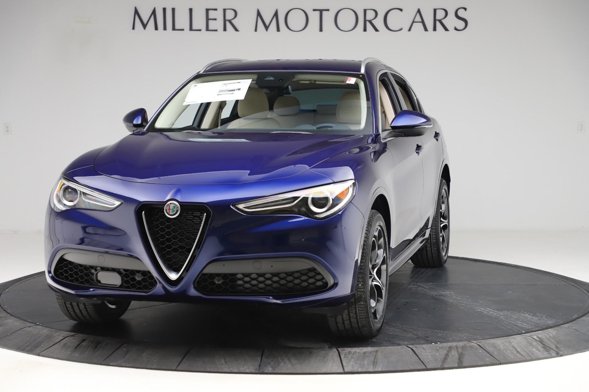 New 2020 Alfa Romeo Stelvio Ti Lusso Q4 for sale $55,790 at Pagani of Greenwich in Greenwich CT 06830 1