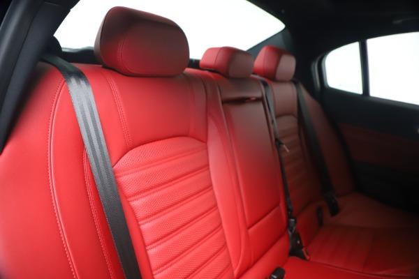 New 2020 Alfa Romeo Giulia Ti Sport Q4 for sale Sold at Pagani of Greenwich in Greenwich CT 06830 26