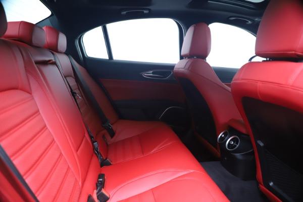 New 2020 Alfa Romeo Giulia Ti Sport Q4 for sale Sold at Pagani of Greenwich in Greenwich CT 06830 27
