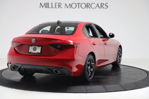 New 2020 Alfa Romeo Giulia Sport Q4 for sale $47,790 at Pagani of Greenwich in Greenwich CT 06830 7