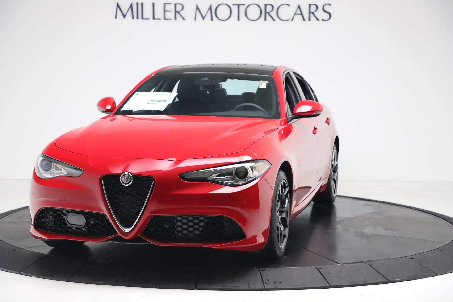 New 2020 Alfa Romeo Giulia Sport Q4 for sale $47,790 at Pagani of Greenwich in Greenwich CT 06830 1